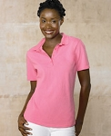 Ladies' 7 oz. ComfortSoft® Cotton Piqué Polo