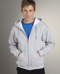 FULL ZIP HOOD SWEATSHIR
