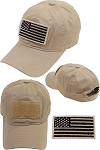 US Flag Velcro Patch Cap