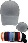 Kids Plain Adjustable Velcro Cap
