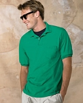 5.2 oz  50/50 EcoSmart Jersey Pocket Polo