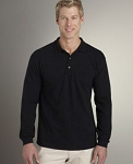 Long Sleeve Ring Spun Pique Sport Shirt